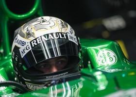 Van der Garde rijdt Le Mans