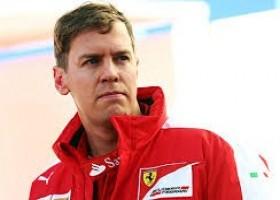 Vettel zal vijf plaatsen terug gezet worden