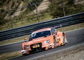 Jamie Green domineert de DTM-race op Zandvoort