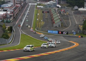 Internationale Renault Clio Cup Finale tijdens Racing Festival op Spa Francorchamps