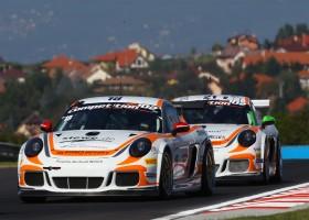 Viebahn en Terting winnen in Hongarije, Knap en Severs snelste Nederlanders