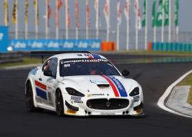Winst voor Maserati op de Hungaroring