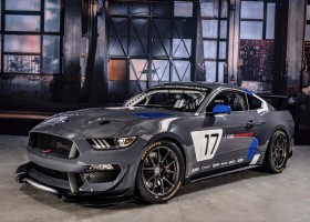 Ford presenteert Mustang in GT4-trim