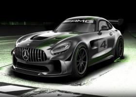 Mercedes ontwikkelt nieuwe GT4-bolide