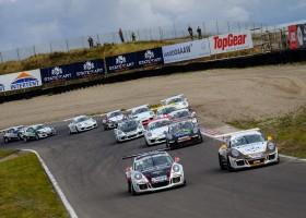 Stevig deelnemersveld voor Porsche GT3 Cup Challenge Benelux.