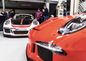 GP Elite met drie wagens in de Porsche GT3 Cup Challenge Benelux