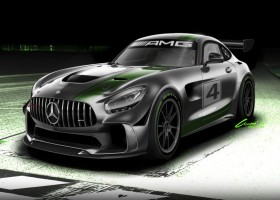 Mercedes-AMG GT4 debuteert eind 2017