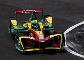 Di Grassi gokt en wint Formule E race in Mexico