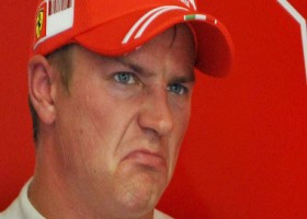 Räikkönen heeft moeite met de SF70H