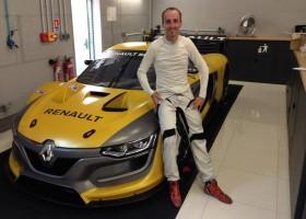 Kubica test met Formule E-wagen