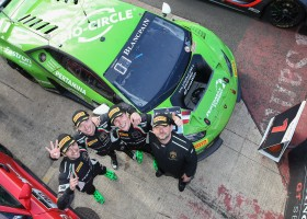 Lamborghini wint ook 3 uur van Silverstone