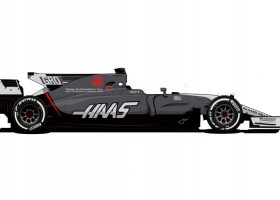 Haas F1 vanaf Monaco met nieuwe kleurstelling