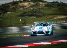 Yannick Hoogaars start race 2 op Zandvoort van pole