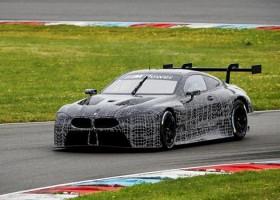 BMW test met nieuwe M8 GTE