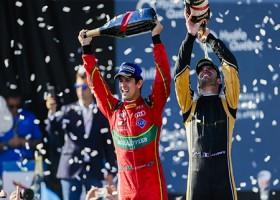 Di Grassi pakt kampioenschap in Formule E