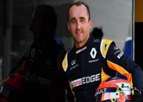 Kubica trekt aandacht achter het stuur van Renault-bolide