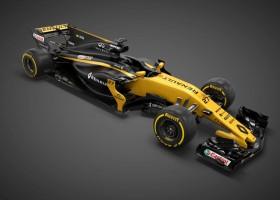 Renault F1-bolide zaterdag twee keer in actie