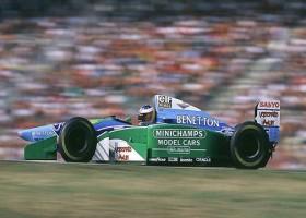 Mick Schumacher met Benetton F1 naar Spa