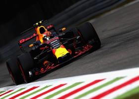 Verstappen 10de in Monza in beeld [Foto's]