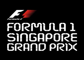 Natte race leidt tot chaos in Singapore