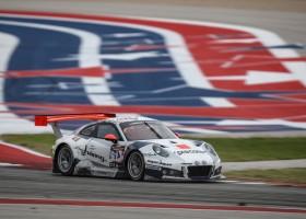 Herberth Motorsport leidt halverwege bij première Hankook 24H COTA USA