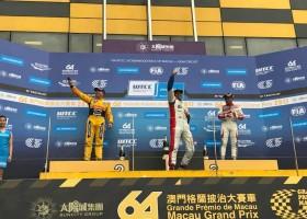 Bennani wint in Macau, Coronel naar het podium