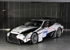Lexus LC aan start van 24-uursrace Nürburgring