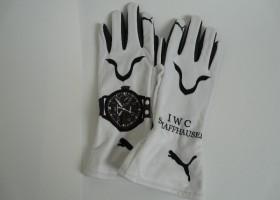 Biometrische handschoenen voor coureurs