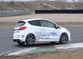 Fiesta Sprint Cup bolide succesvol getest op Zandvoort