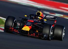 Ricciardo toont snelheid Red Bull en legt 165 ronden af