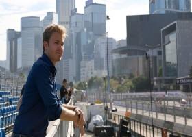 Rosberg rijdt als eerste met tweede generatie Formule E