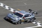 Podium voor Mercedes in een lastige race