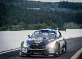 Daan Meijer met snelle BMW M4 silhouette in Supercar Challenge