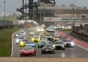 Scuderia Praha Ferrari wint Hankook 12H MUGELLO