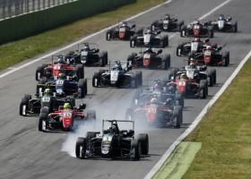 Eriksson wint, eerste podium voor Schumacher