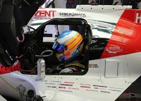 Alonso ook achter het stuur van een LMP2-machine