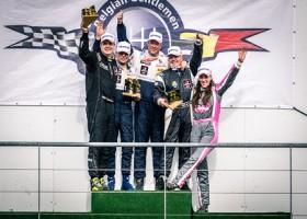 Spirit Racing pakt podium bij de seizoensopener op Spa
