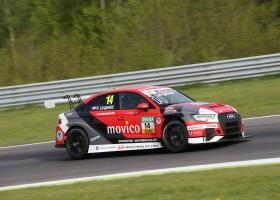 Imponerende inhaalraces Niels Langeveld in Tsjechische derby TCR Germany