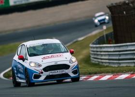 Laurens de Wit verzekert zich van eerste pole in de Fiesta Sprint Cup