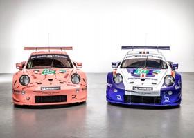 Porsche met klassieke kleurstelling naar Le Mans