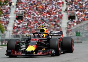 Verstappen kijkt terug op een goede race in Canada