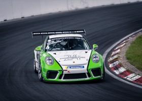 Podium voor GP Elite tijdens jubileumfeest voor Porsche