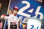 Emotionele zege voor Toyota en Alonso in Le Mans