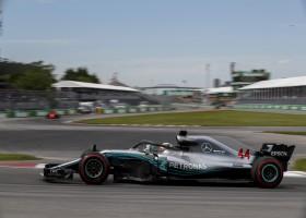 Hamilton en beide Red Bulls in top drie