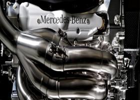 Mercedes zette tijden met nieuwe motor