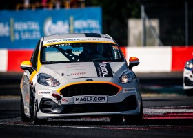 Loek Hartog snelste tijdens kwalificatie van de Fiesta Sprint Cup