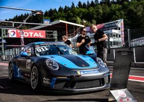 RaceArt behaalt zege in Porsche GT3 Cup op Spa-Francorchamps