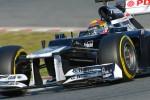 Maldonado snelste in Valencia