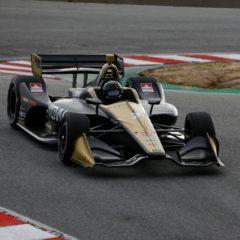 Marcus Ericsson testing in IndyCar Series at Laguna Seca