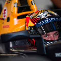 Dan Ticktum test RB15 op Sakhir International Circuit in Bahrein